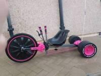 go kart kid pink huffy green machine