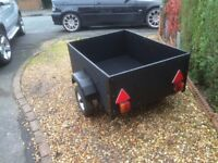 4 x 3 Car Trailer with cover
