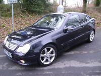 Mercedes C180 Kompressor Coupe * Amg Sport Edition * Auto * Low Miles *