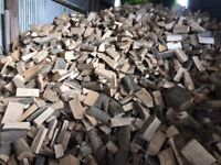 2/3 Year Seasoned Barned Stored Hardwood Logs