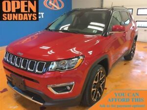 2017 Jeep Compass Limited! LEATHER! 4X4! BACK-UP CAM!