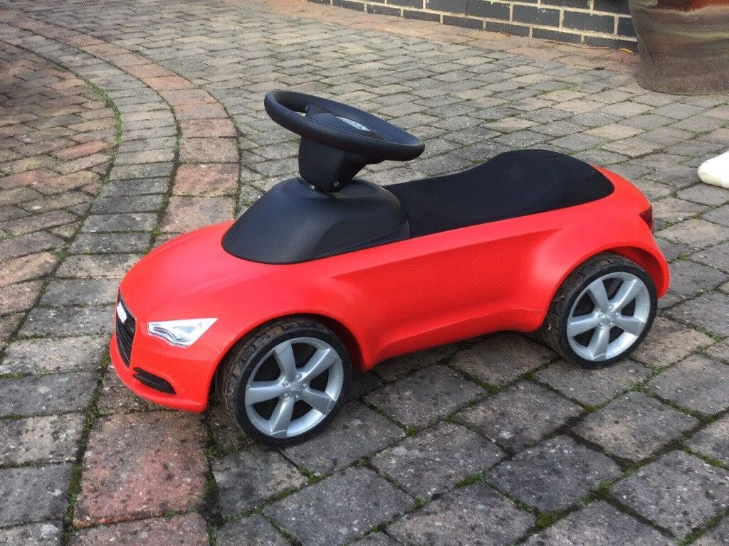 Audi Mini Quattro Red Kids Ride on Push Car