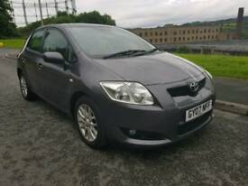 2007 Toyota Auris 2.0 litre D4D DieselFull Service History Lady Owner