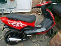Hawk tgb 125cc moped