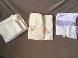 Cot Bed linen (used)