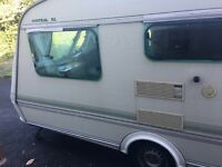 Caravan, 3 berth, no leaks. Eldiss.