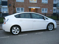 60 reg 2010 toyota prius t spirit hybrid, 1 owner, 73k interior leather n sat nav camera etc