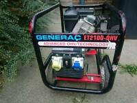 Petrol generator starts and stops as it should.