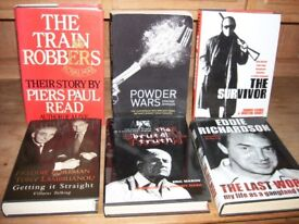 English Gangland genre biographies/autobiographies