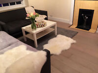 2 mins walk to Hanger Lane Station, newly refurbished Double Bedroom flat, Living room available!