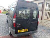 Fiat Doblo wheelchair accessible van for sale.