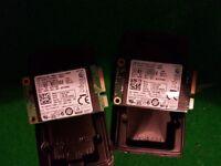 Pair of Samsung 128GB mSATA SSDs for Sale