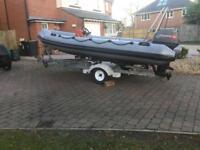 Avon Super sport 4.65 Rib Boat
