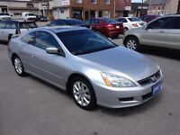2007 Honda Accord EX V6 LEATHER ROOF CALL BELLEVILLE