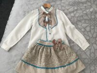 Dolce petit girls set in good condition