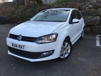 """2014 VW POLO MATCH EDITION 3 DOOR 'DRIVE AWAY"""" ***LOW MILES***"""