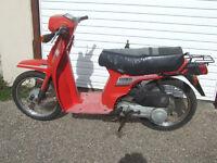 Honda SH 50 E 50cc Moped, 11 months MOT,