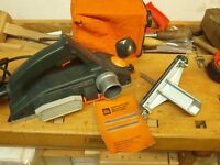 ELU MFF80 Electric Hand Planer (240v) in excellent condition - Swiss made quality power tool