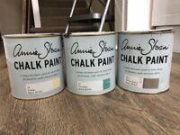 Annie Sloan Chalk Paint x3