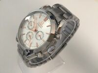 New Omega Speed Master stainless steel automatic watch