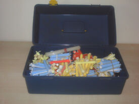 Perm Rods mixture of sizes approximately 224 pieces in box