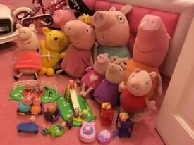 Huge peppa pig bundle