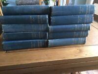 Antique Vintage Children's Encylopedia set of 10 volumes
