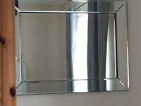 Contemporary mirrors - 2 available