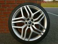"Genuine 22"" Range Rover Evoque/ sport alloys"
