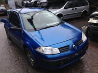 2004 Renault Megane MK2 1.4 extreme 3dr blue tei45 te145 BREAKING FOR SPARES