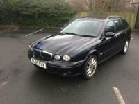 JAGUAR X TYPE 2.0 DIESEL ESTATE MOT £1199