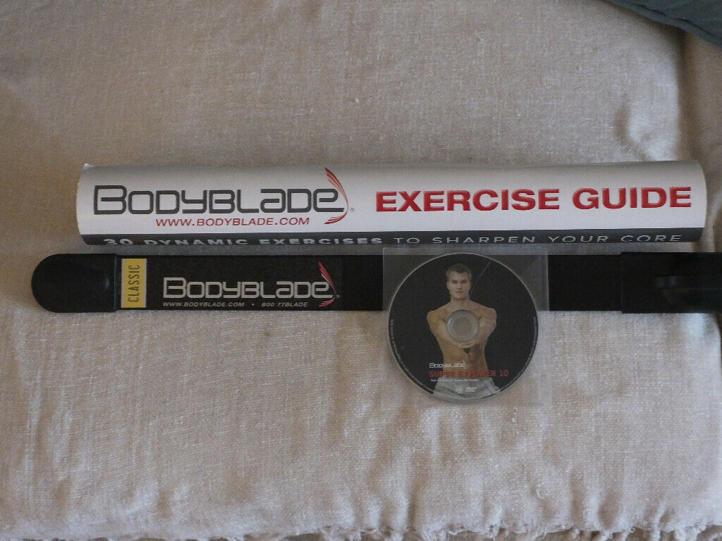 Body Blade (including DVD and exercise chart) | in East Kilbride, Glasgow |  Gumtree