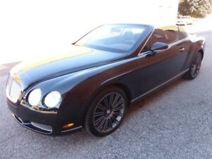 2008 Bentley Continental GTC -- A.W.D -- BLACK ON BLACK