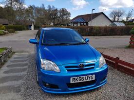 Stunning blue Toyota Corolla SR for sale