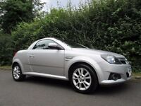 VAUXHALL TIGRA 1.4i 16V SPORT STUNNING LOW MILEAGE CONVERTIBLE ONLY 45K MILES