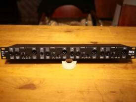 Img stageline DIB-104 QUAD DI Box 4 x passive D.I. Rack unit