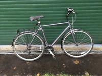 Men's large Hybrid Ridgeback Bike