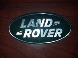 New Land Rover Front/Rear Badge.