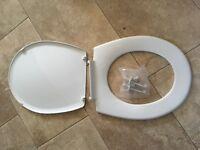 Plastic Toilet seat 44cmx38cm, new and unused.