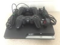 PS3 500GB HDD (all cables included, 2 controllers, 11 games)