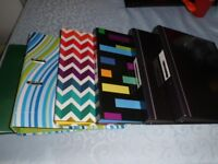 Bundle of 6 A4 2 Ring Binders/Files/Folders Different Colours VGC
