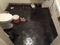 Floor levelling; Floor sanding; Damp floor; Plywood flooring services.