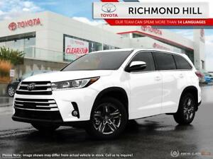 2018 Toyota Highlander Limited AWD  - Navigation - $196.96 /Wk