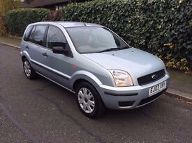 2003 FORD FUSION LOW MILEAGE 5 DOOR HATCHBACK 1.4CC