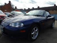MAZDA MX-5 1.8 I FULL SERVICE LOW MILES MINT BEAUTIFUL CONDITION DRIVES A1 (blue) 2003