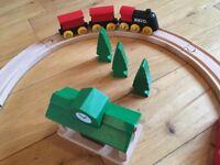 Brio wooden Railway Set - figure of 8