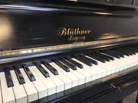 1910 Beautiful Bluthner black upright piano - CAN DELIVER!