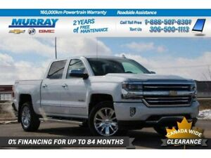 2018 Chevrolet Silverado 1500 High Country 4WD*SUNROOF,NAV SYSTE