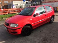 Volkswagen polo 1.0 drives well low milage