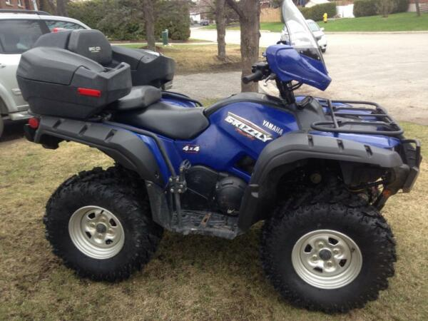 Yamaha 700 grizzly with power steering for sale canada for Yamaha grizzly 700 for sale